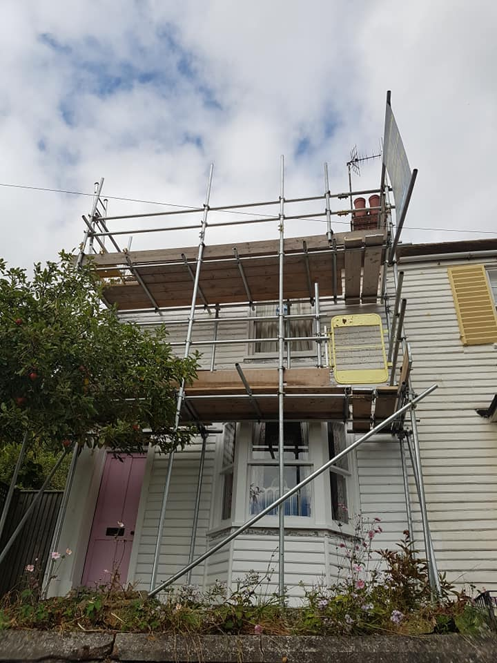 Front of Scaffold