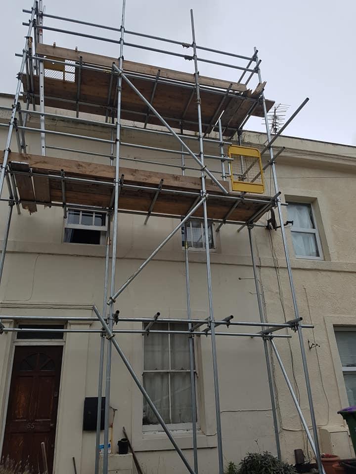 Sandgate Roof Scaffolding