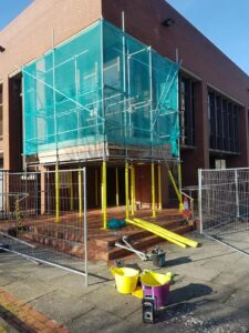 commercial scaffolding in Kent