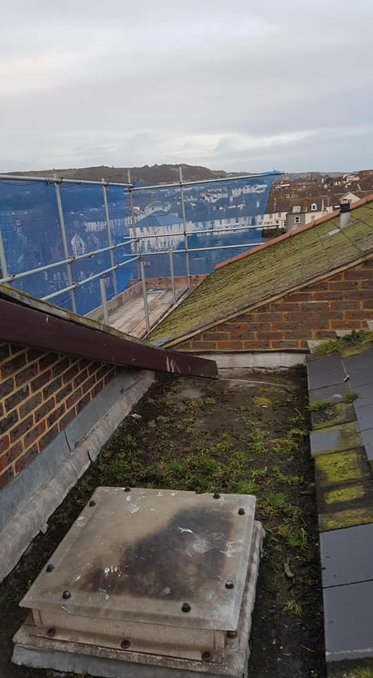 Roof Access Scaffold