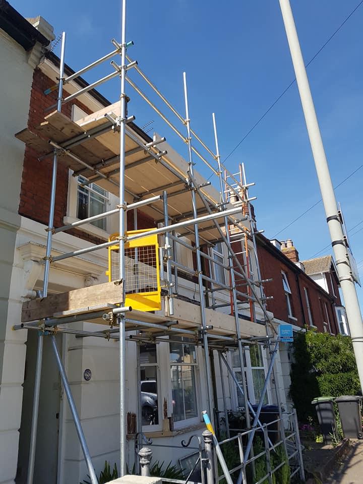 Canterbury House Scaffolding