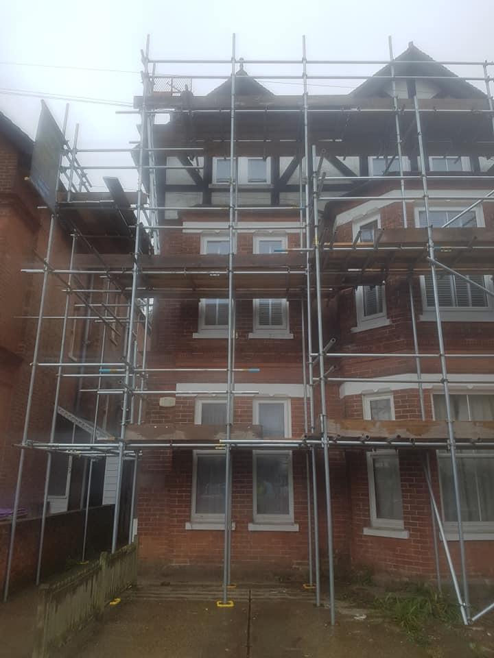 Sittingbourne House Scaffolding
