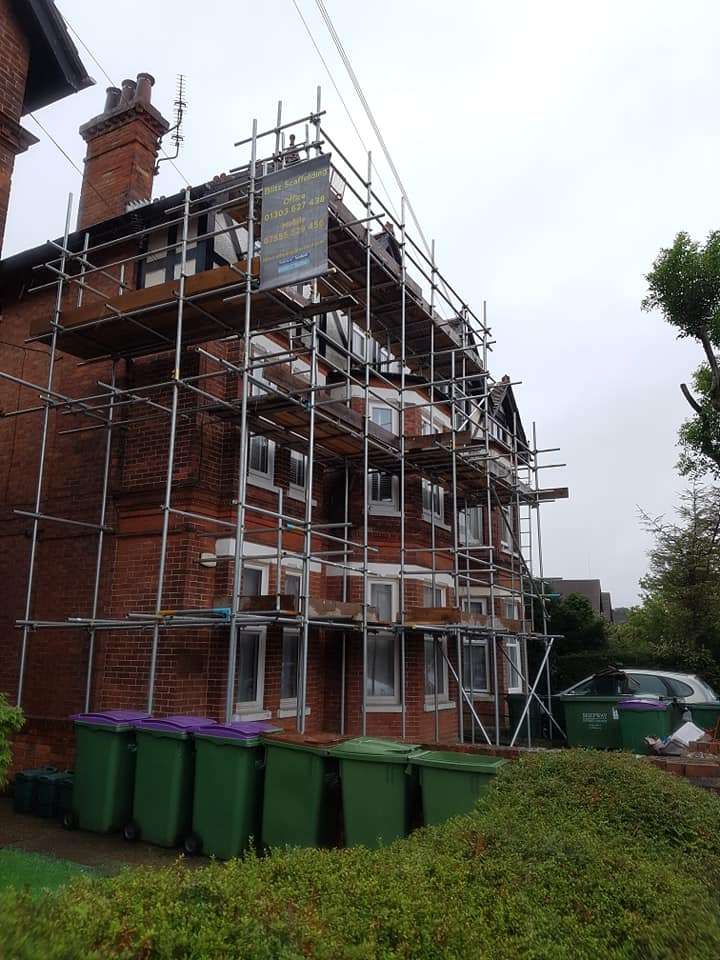 Back of House Scaffolding