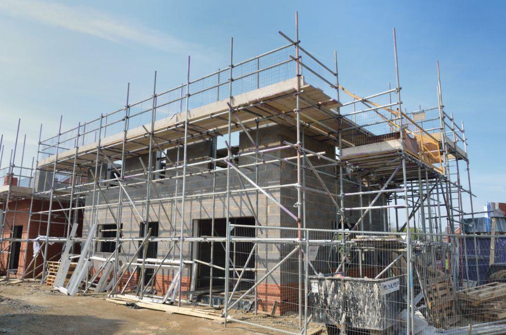 New Build Scaffolding