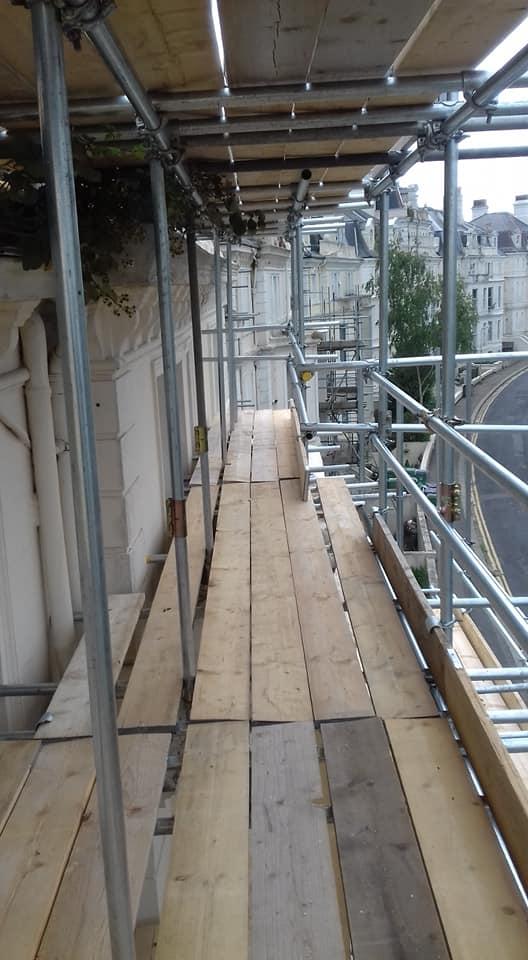 Scaffolding Walkway