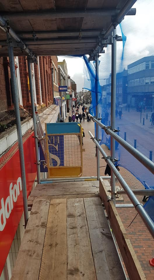 Commercial Scaffolding Sittingbourne