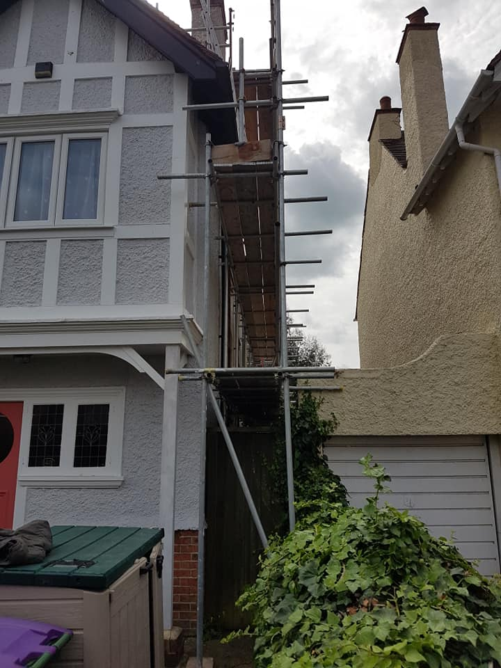 Hythe Scaffolding for Painting